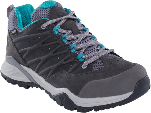 The North Face W's Hedgehog Hike II GTX Shoes Q-Silver Grey/Porcelain Green